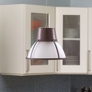 Affordable Bente Hanging 1-Light Pendant By It's Exciting Lighting