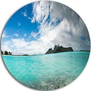 'Bora Bora French Polynesia Panorama' Photographic Print on Metal by Design Art