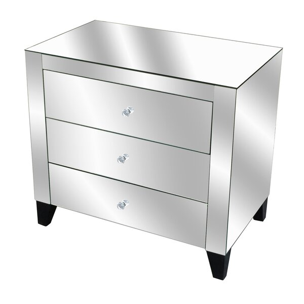 Fletcher 3 Drawer Chest By Crestview Collection