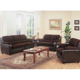 Juuli 3 Piece Living Room Set by Latitude Run®