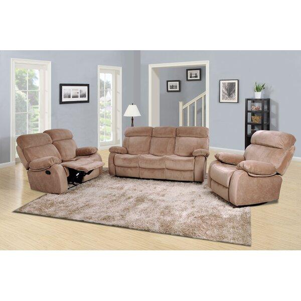 Meniru Reclining Configurable Living Room Set by Red Barrel Studio