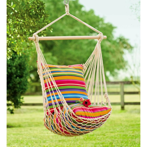 Plow Amp Hearth Rope Cotton And Polyester Chair Hammock
