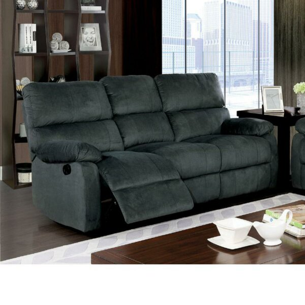 Orourke Three Seater Reclining Sofa by Red Barrel Studio