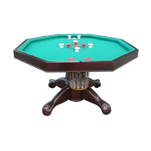 Slate Bumper Pool Table with Accessories by Berner Billiards
