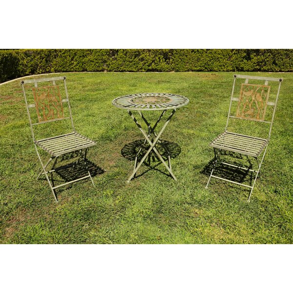 Robb 3 Piece Bistro Set by August Grove