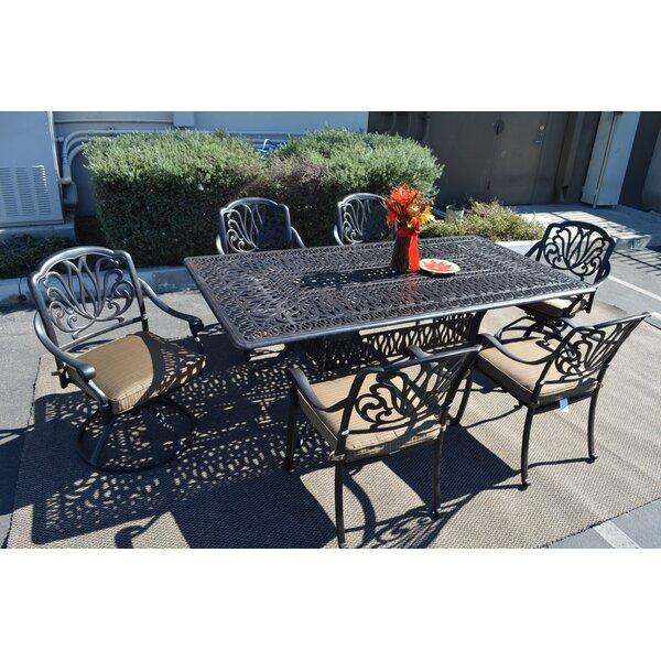 Kristy 7 Piece Patio Set by Darby Home Co
