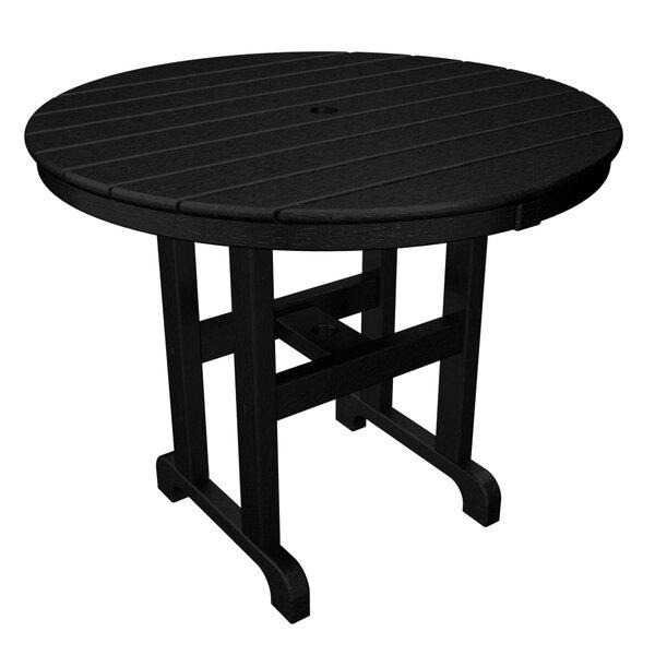 La Casa Café Plastic Dining Table by POLYWOOD®