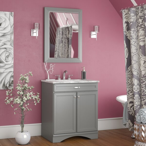 Jonina 30 Bathroom Vanity Set with Mirror by Willa Arlo Interiors
