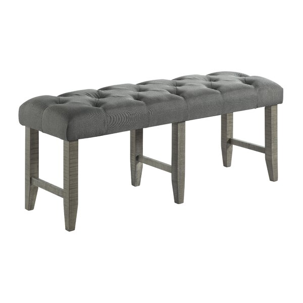 Darley Upholstered Bench by Gracie Oaks