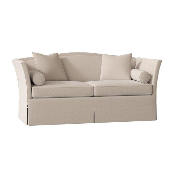 Domenique Flared Arm Sofa