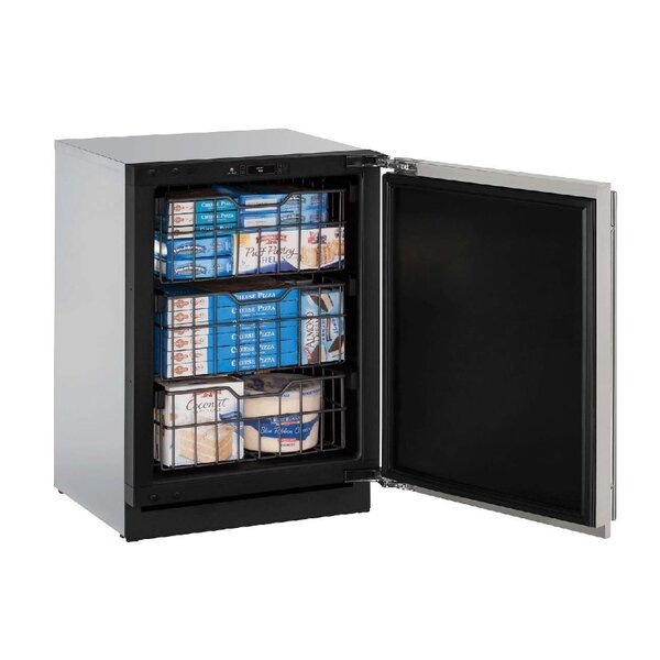 3000 Series Stainless Reversible 4.5 cu. ft. Frost-free Upright Freezer by U-Line