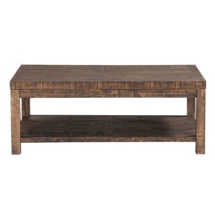 Stamant Reclaimed Wood Coffee Table Millwood Pines