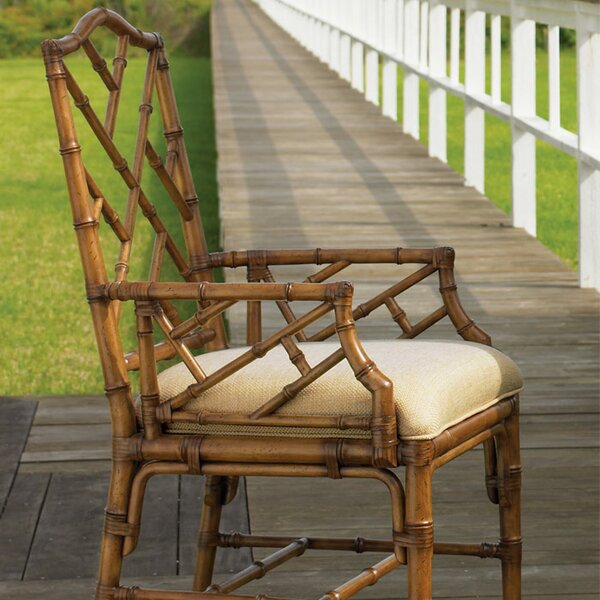 Island Estate Upholstered Dining Chair (Set of 2) by Tommy Bahama Home