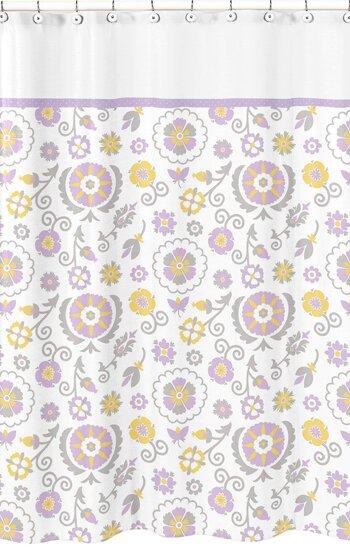 Suzanna Cotton Shower Curtain by Sweet Jojo Designs