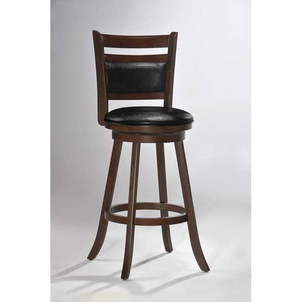 Souza 29 Swivel Bar Stool by Loon Peak