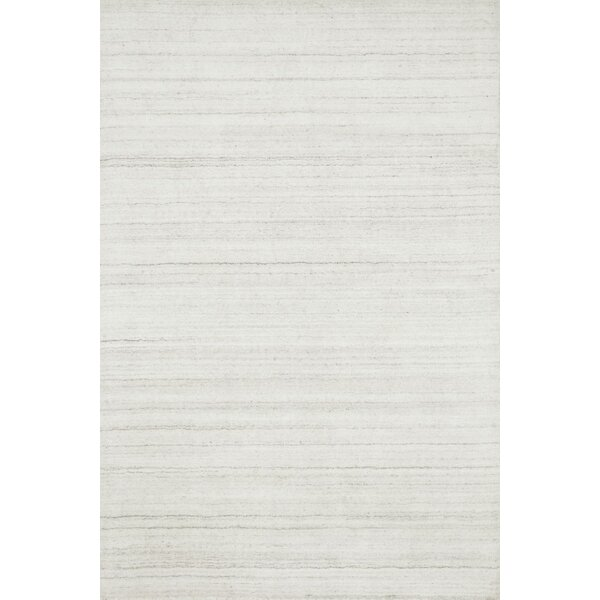 Bedenbaugh Hand-Loomed Ivory Area Rug by Latitude Run