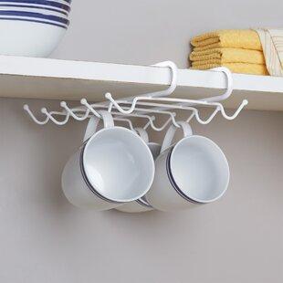 Wayfair Basics Under Shelf Mug Rack