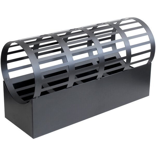 Cradle Steel Wood Burning Outdoor Fireplace by Flame Genie