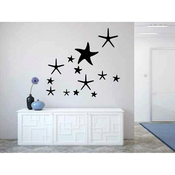 Deltona Starfish Wall Decal by Rosecliff Heights