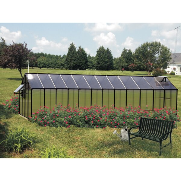 Monticello Mojave 8.1 Ft. W x 24.5 Ft. D Greenhouse by Riverstone Industries