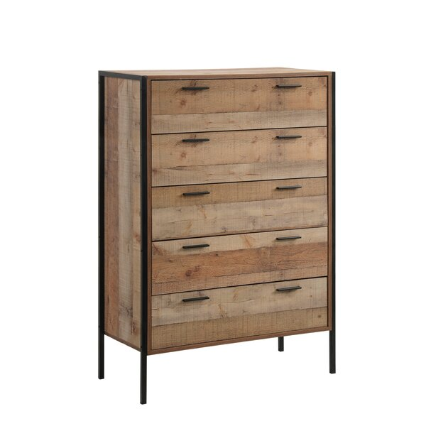 Maher 5 Drawer Chest by Union Rustic