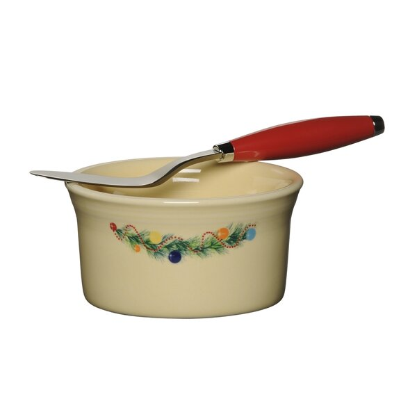 Christmas Tree Dip & Spreader Set by Fiesta