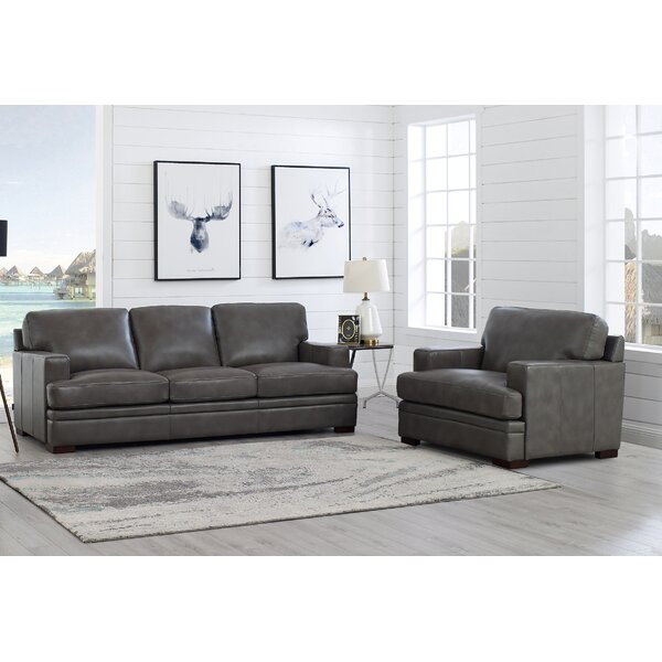 Werner 2 Piece Leather Living Room Set by 17 Stories