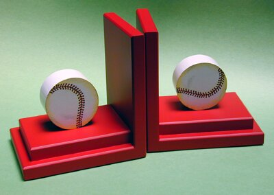 Baseball Book Ends (Set of 2) by One World