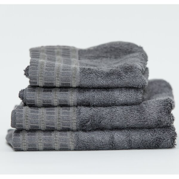 Fetters Classic 4 Piece Rayon from Bamboo Fingertip Towel Set by Darby Home Co