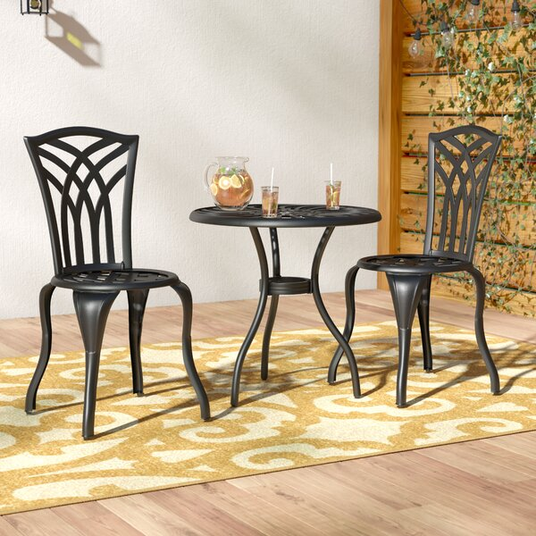 Oconnor 3 Piece Outdoor Bistro Set by Andover Mills