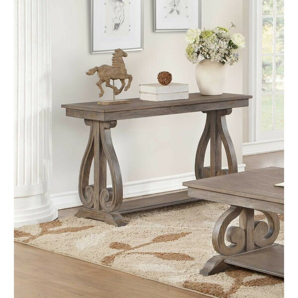 Review Harrison Wooden Console Table