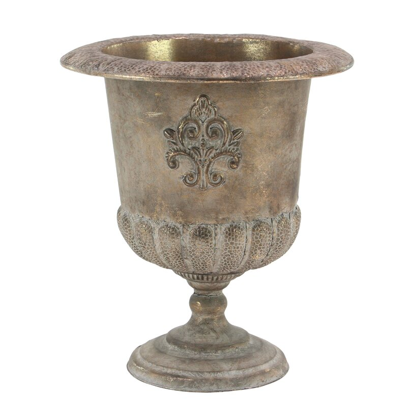 Traditional Iron Urn Planter