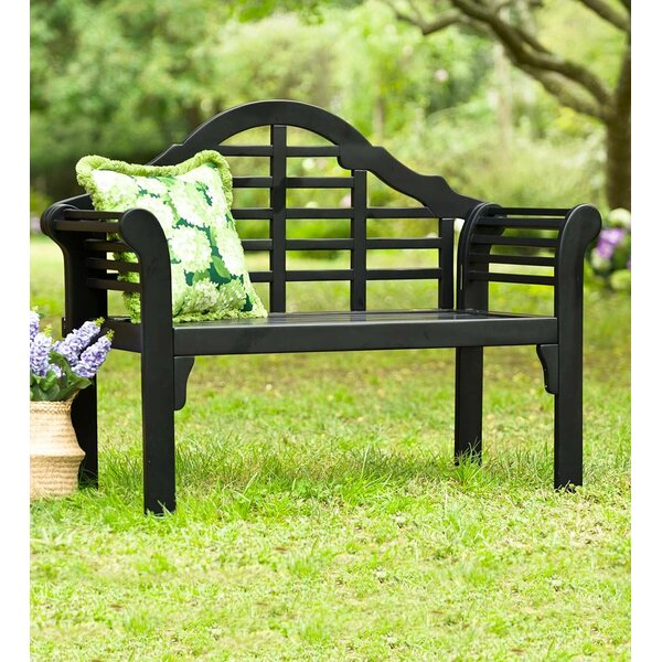 Lutyens Wooden Garden Bench By Plow & Hearth by Plow & Hearth Spacial Price