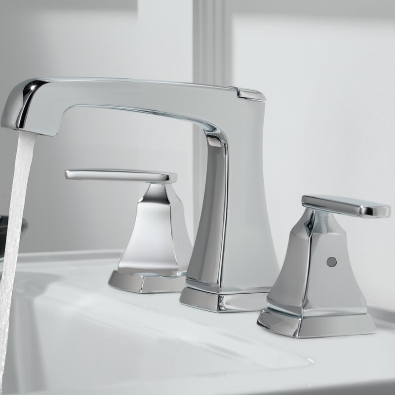 Delta Ashlyn Widespread faucet Bathroom Faucet with Drain Assembly ...