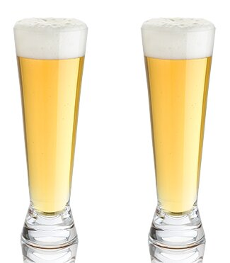Raye™ Crystal 16 oz. Pilsner Glass (Set of 2) by Viski