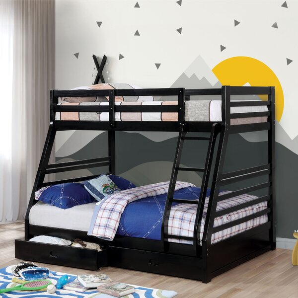 Sturm Twin Over Full Bunk Bed with Drawers by Harriet Bee