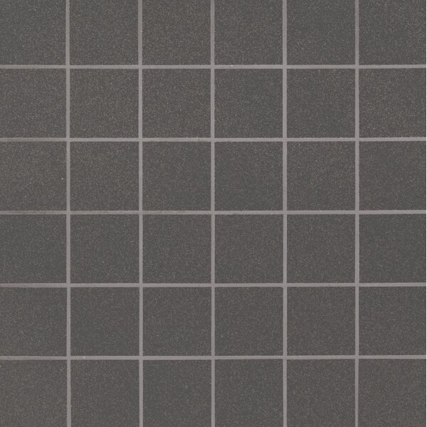 Optima Graphite Mesh-Mounted 2 x 2 Porcelain Mosaic Tile in Gray by MSI