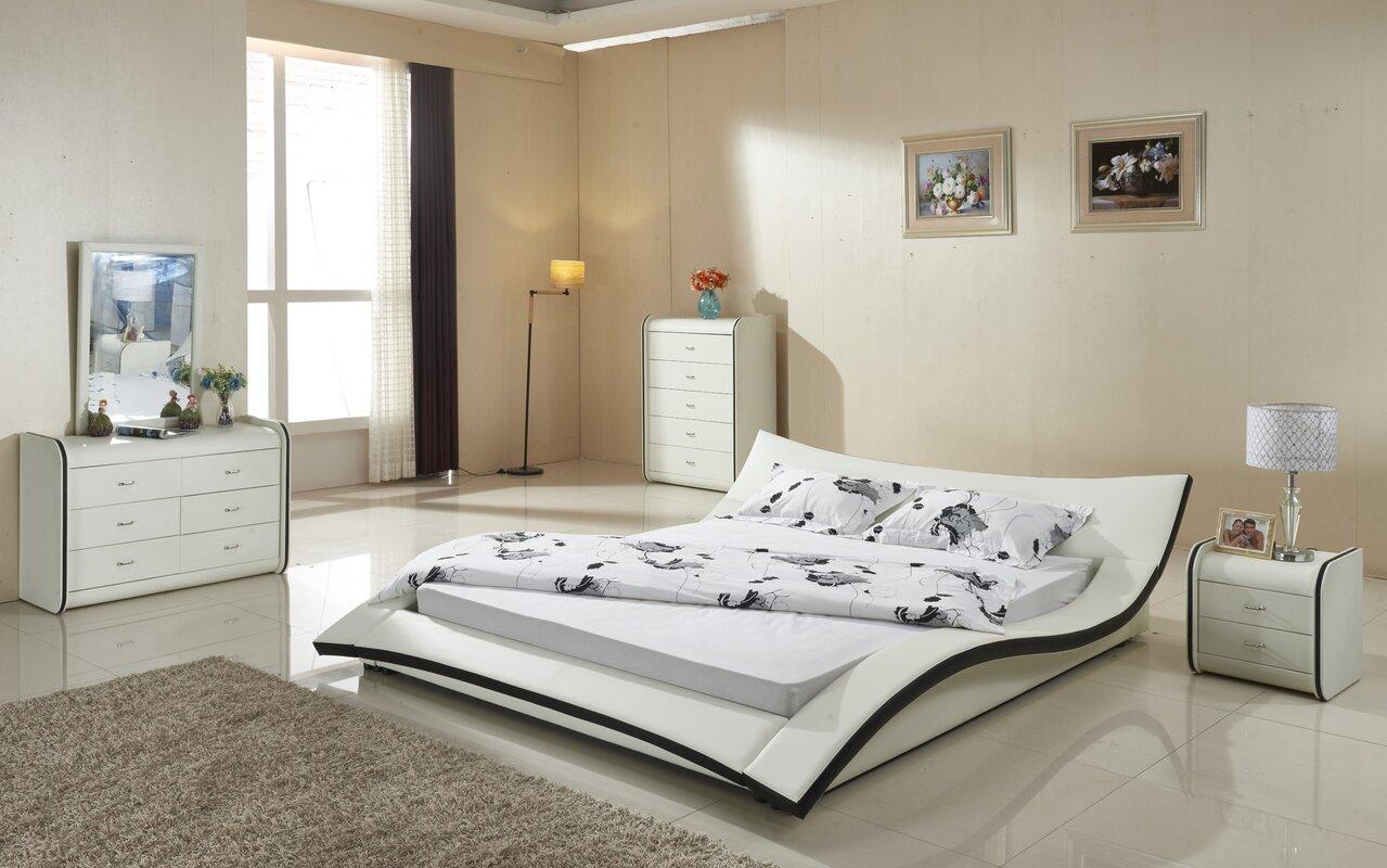 Damen Upholstered Platform Bed