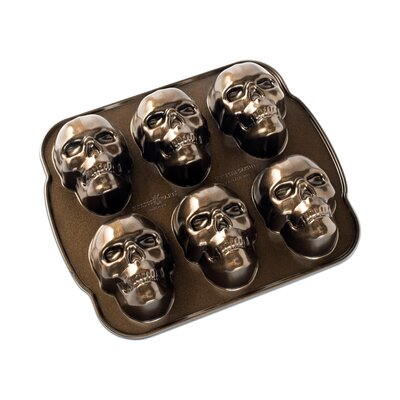 Nordic Ware Nordic Ware Fall Harvest Series Skull Cakelet