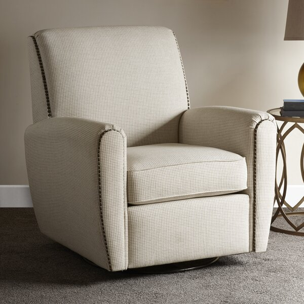 Sara Swivel Glider by Charlton Home