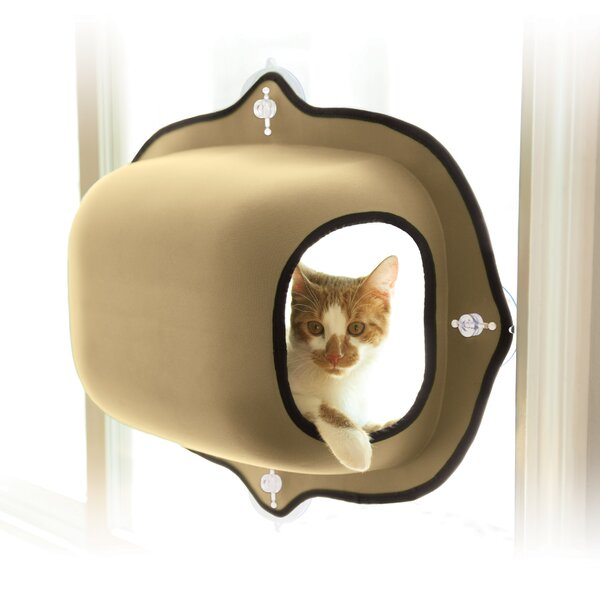 EZ Mount Window Cat House by K&H Manufacturing