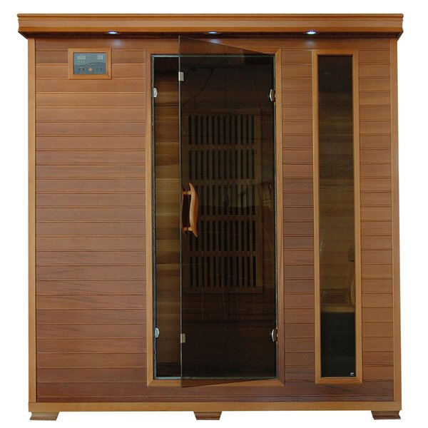 Puretech Low EMF 4 Person FAR Infrared Sauna by Radiant Saunas