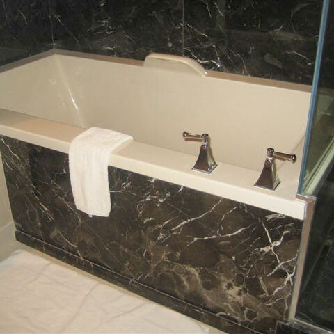 Designer Kayla 74 x 42 Soaking Bathtub by Hydro Systems