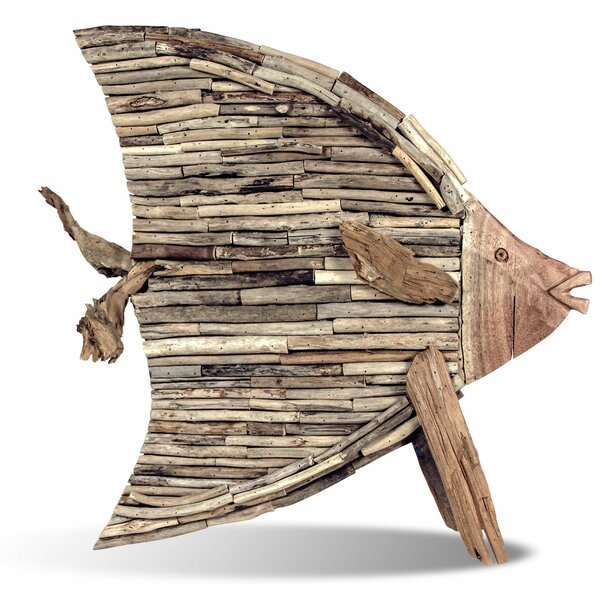 Free Standing Driftwood Fish by Ibolili