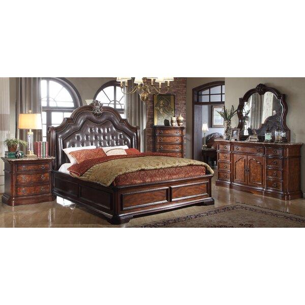 Robinett King Panel 4 Piece Bedroom Set by Astoria Grand