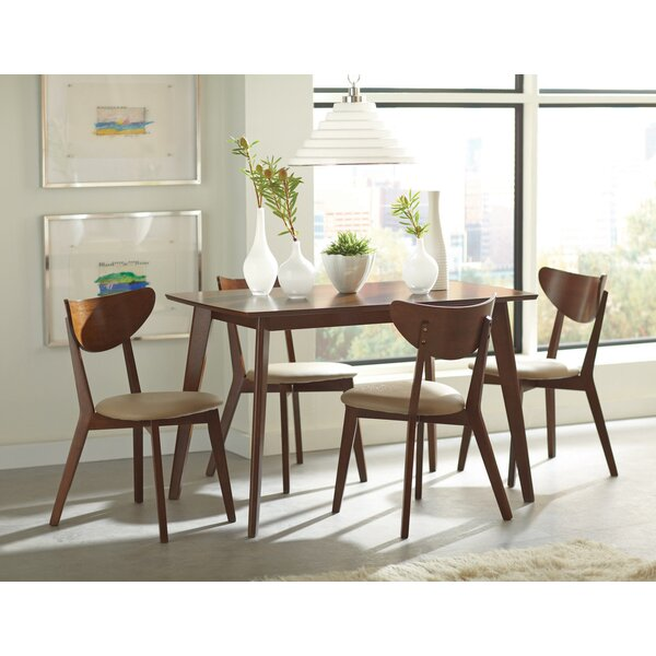 Evelynn 5 Piece Dining Set by George Oliver George Oliver