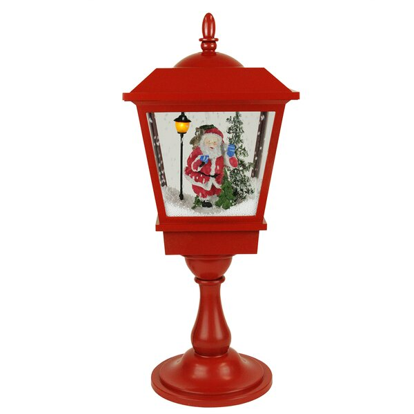LED Musical Santa Claus Christmas Street Lamp by Northlight Seasonal