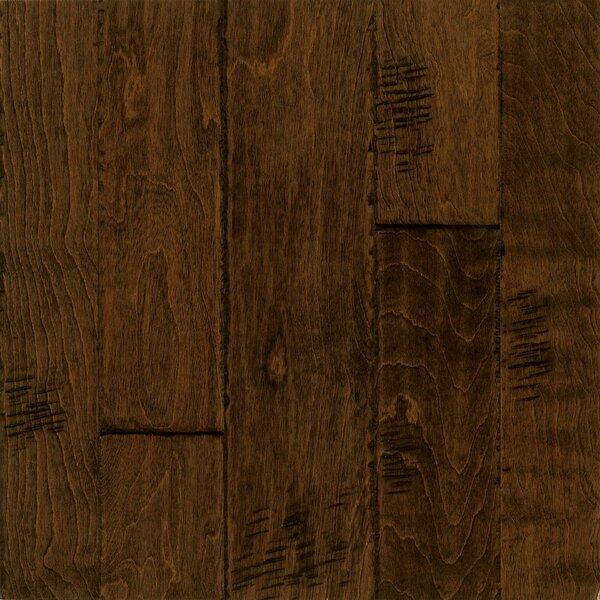 Artesian Random Width Engineered Birch Hardwood Flooring in Peanut Shell by Armstrong Flooring