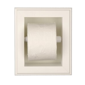 In Wall Toilet Paper Holder recessed toilet paper holders you'll love | wayfair