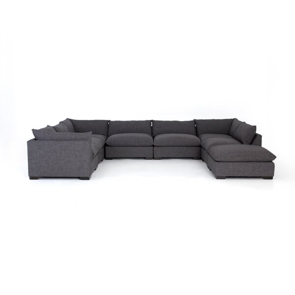 Travillen Reclining Sectional With Ottoman By Hokku